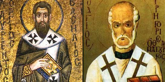 2 gennaio basilio magno e gregorio nazianzeno