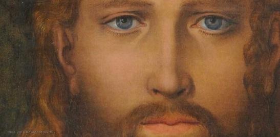 con lo sguardo fisso su Gesù