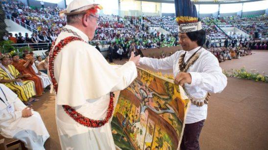 L'incontro del Papa con i popoli dell'Amazzonia
