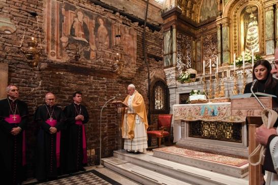 Papa a Loreto