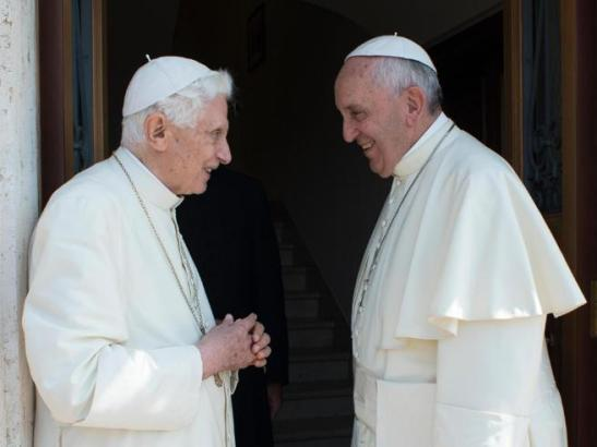 Benedetto XVI e Papa Francesco