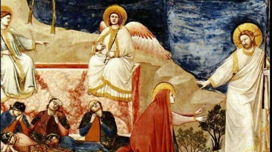 La Resurrezione di Gesù di Giotto nella Cappella degli Scrovegni