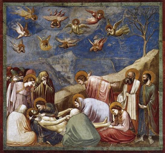 Padova, Cappella degli Scrovegni, Giotto-Il-compianto-sul-Cristo-morto-1