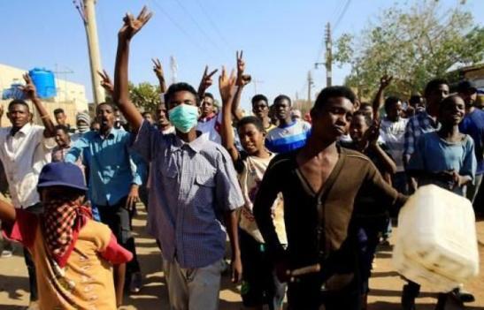 Sudan protesters