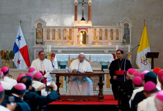 POPE PANAMA