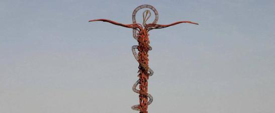 «Come Mosè innalzò il serpente nel deserto, così bisogna che sia innalzato il Figlio dell'uomo» (Gv 3,14)