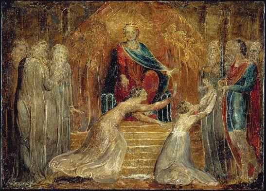 William_Blake_-_The_Judgment_of_Solomon