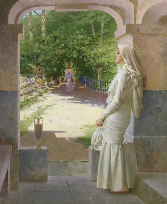 «Annunciazione» Vittorio Corcos (1904)