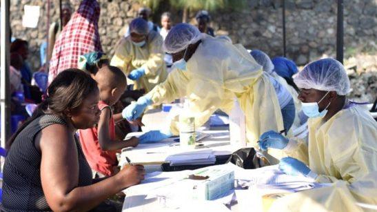 Controlli sanitari a Goma