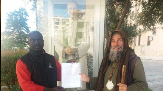 Fr. Biagio con Paul