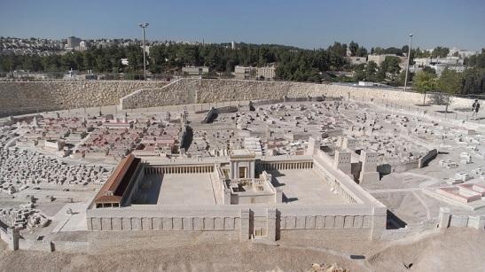 Modello del Secondo Tempio di Gerusalemme.
