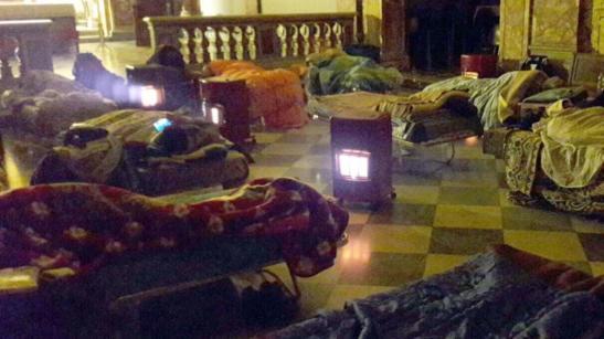 Roma. Tra i senzatetto anche bambini e anziani