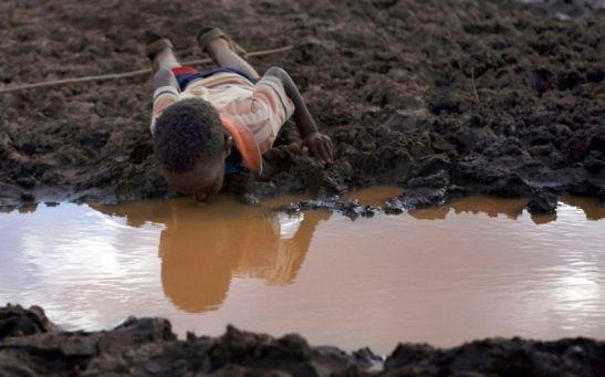 Senza acqua potabile 210 milioni di bambini.