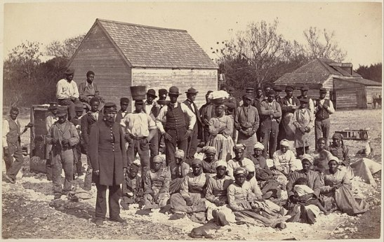 Slaves of Gen. Thomas F. Drayton, Hilton Head, S.C. in 1862 after Drayton deserted them, fleeing from the Union army (1862)