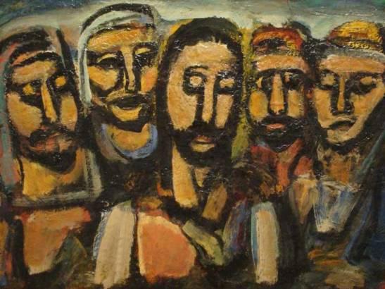 Georges-Rouault-Krist-i-apostoli