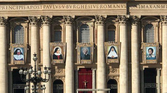 Le biografie dei cinque nuovi Santi