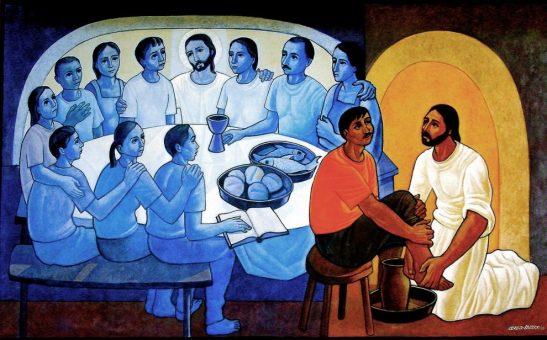 Anunciar el Evangelio en el espíritu del lavatorio de los pies