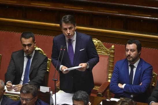 Conte, Di Maio e Salvini