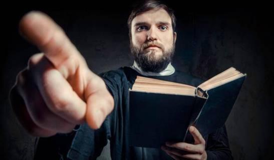 Il tuo Dio è un giudice che castiga