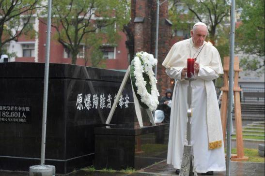 Le Pape à Nagasaki