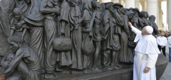 papa-monumento-migranti