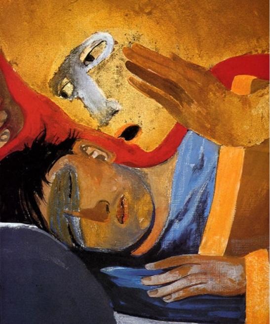 Arcabas saint Joseph