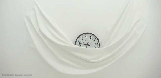 Falling Clock, Daniel Arsham.