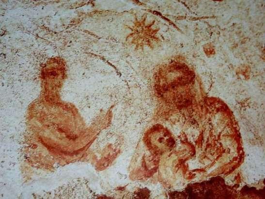 La Natività della Catacomba di Priscilla