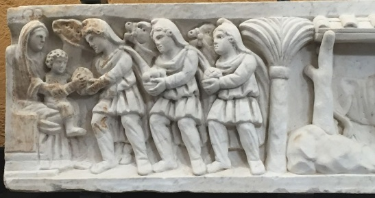 nica-Musei-Vaticani-particolare-di-sarcofago-con-i-Magi
