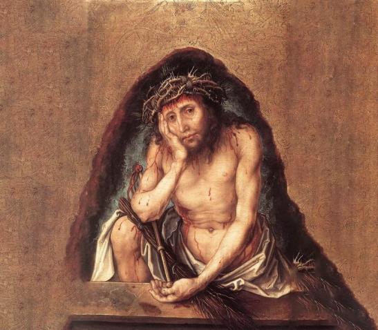 22-03-2020-Albrecht-Durer-Christ-as-the-Man-of-Sorrows-il-venerdi-corpo