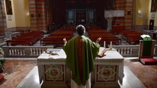 Messa senza fedeli