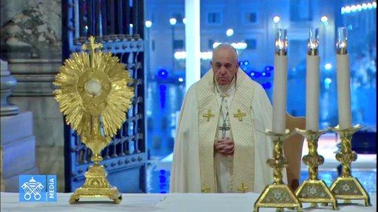 Preghiera del Papa