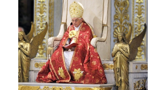Papa Bento XVI. Foto Religión Digital