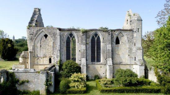 Coupe de France   L'abbaye Sainte-Marie de Longues