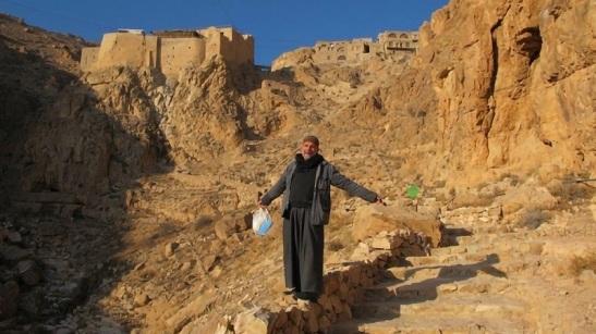 Padre Dall'Oglio in Siria