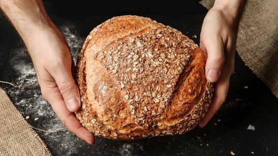 Pão de Deus dado e doado