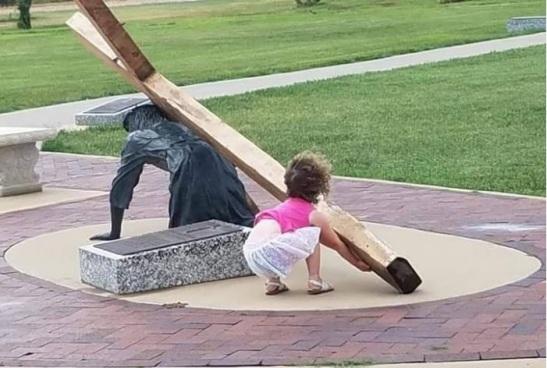 Portare il giogo della croce con Gesù