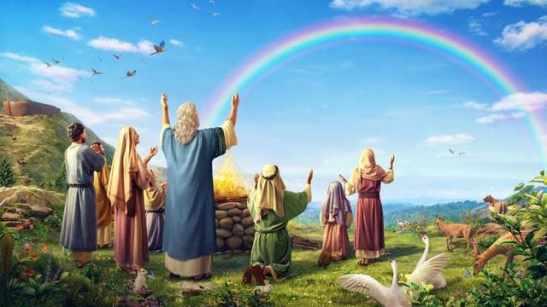 Ravasi - L'arcobaleno, segno dell'alleanza con Dio